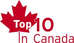 Top 10 in Canada