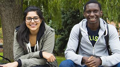 two studentsw