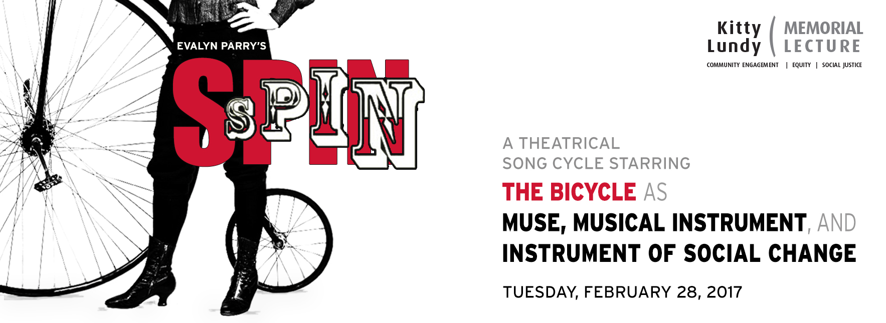 SPIN: The Bicycle as Muse, Musical Instrument and Instrument of Social Change @  |  |