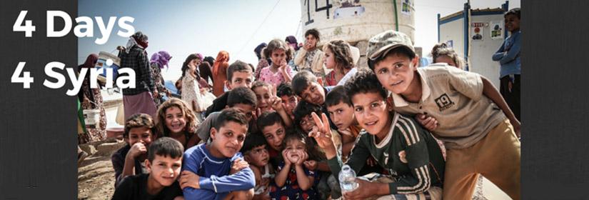 Syrian children refugees