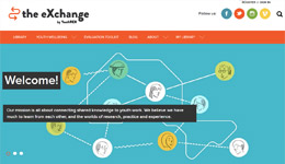 The eXchange website