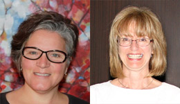 School of Social Work Professor Andrea Daley and School of Nursing Professor Judith MacDonnell