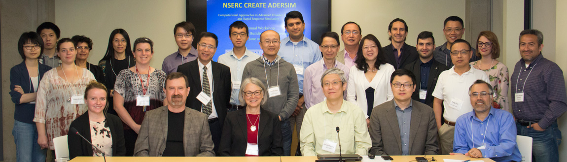 Photo of participants in ADERSIM workshop