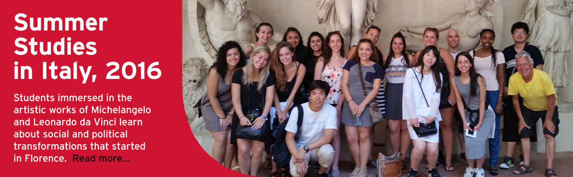 Study Abroad Italy Summer 2016