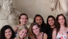 Study Abroad Students in Tuscany 2016
