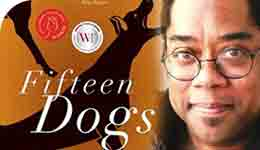 Andre Alexis and Fifteen Dogs book cover