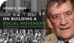 Prof. John Saul and Social Movement Book