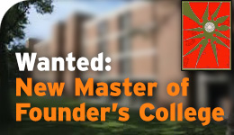 Founders College Master search