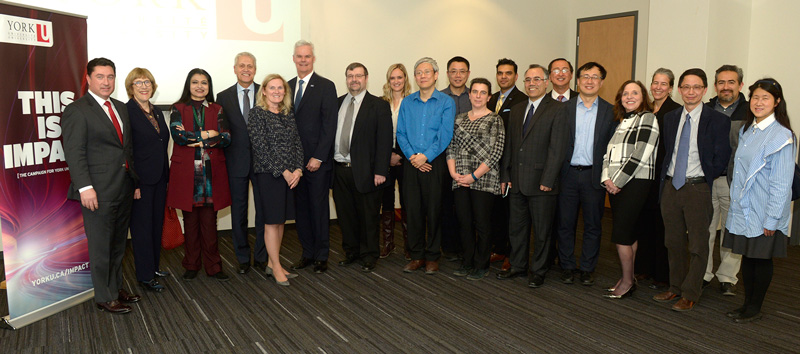 IBM partners with LA&PS/YorkU group photo