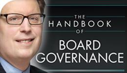 Prof. Richard Leblanc Board Handbook