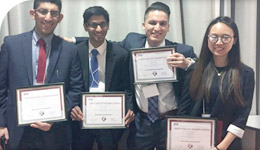 Accounting Students 3rd place win in Fast Pace to the Case competition photo