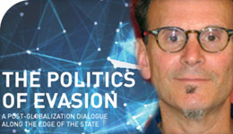 Prof Robert Latham book The Politics of Evasion photo-illustration