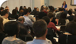 Innovation York uses ADERSIM project as case study: photo of attendees