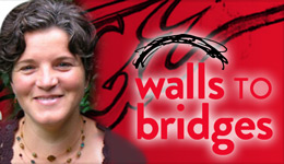 Prof Andrea Daley Walls to Bridges Social Work | Photo-illustration
