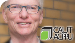 Prof Craig Heron receives CAUT Award 2017-05-17