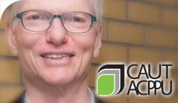 Prof Craig Heron receives CAUT Award 2017-05-17
