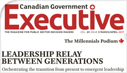 Canadian Government Executive (CGE) magazine