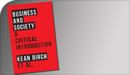 Business and Society book | 2017-08-01 | Kean Birch et al photo illustration