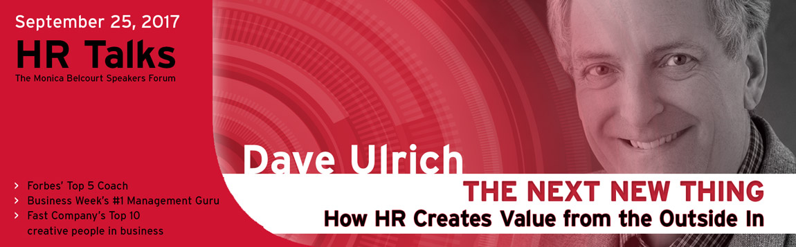 Monica Belcourt HR Talks 2017 with Dave Ulrich
