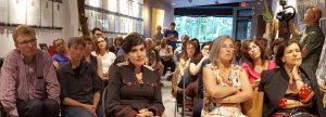 Emanuel Jaques Community Conversations crowd