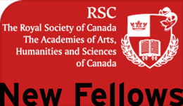 RSC Royal Society of Canada New Fellows | graphic | 2017-09-13