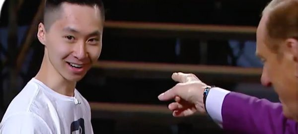 Business Economics student Kevin Chau on CBC's Dragon's Den | CBC Photo | 2017-10-23