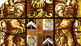 stained glass window from Worshipful Company of Barbers | photo | 2017-10-03