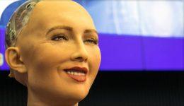 "Artificial Intelligence robot ""Sophia"" photo | 20217-12-06 | Prof Kristin Andrews"