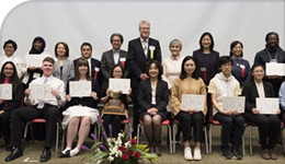Japanese Speech Contest Winners | group photo | 2018-03-20