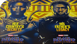 Black Panther film billboard photo | 2018-04-16