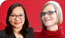 Profs Ethel Tungohan and Regina Rini, new Canada Research Chairs | composite photo | 2018-05-06