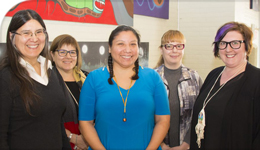 Photo of Indigenous Ethics Workshop organizers and presenters | 2018-05-17
