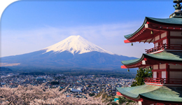 Photo of Mount Fuji and structure in Japan | 2018-05-24