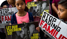 Photo of children protesting US family separations from TheConversation.ca | 2018-06-29