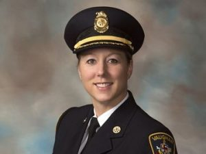 Photo of Vaughan Fire Chief Deryn Rizzi