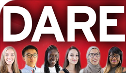 Photo montage of DARE and student award recipients | 2018-07-12