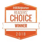 Graphic of HR Reporter Readers' Choice Award Winner seal | 2018-07-05