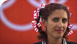 Toronto Star photo of Professor Priscila Uppal at the 2012 Olympics   2018-09-06