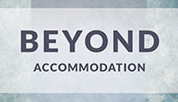 Beyond Accomodation book cover