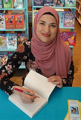 Canadian author Uzma Jalauddin